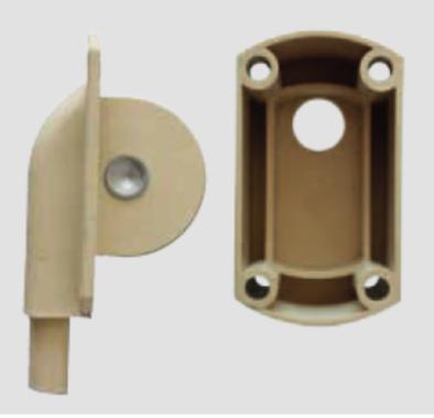 Rolladen Umlenkrolle IV für Drahtseil, max. 30 kg