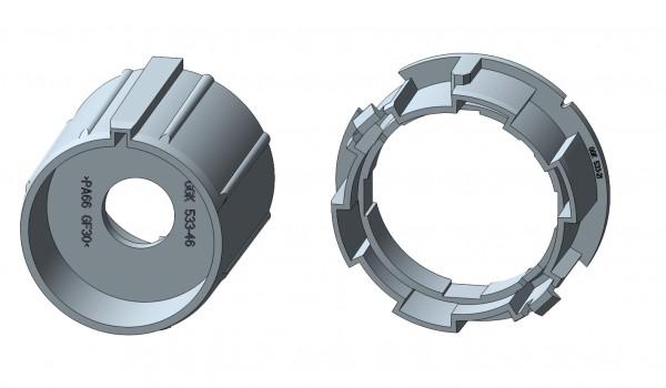 Siralwelle für Intelligente Rohrmotore
