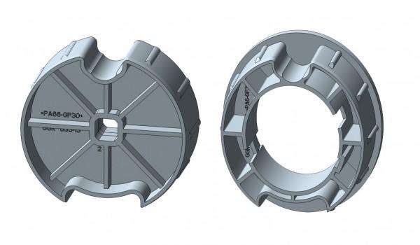 Nutrohr mit Flach-/Rund-/MHZ-Nut für elektronische Rohrmotore-Copy